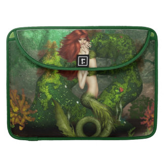 """Red Haired Mermaid  15"""" MacBook Sleeve Sleeve For MacBooks"""