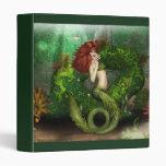 Red Haired Mermaid Binder