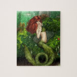 """Red Haired Mermaid Puzzle<br><div class=""""desc"""">Red haired mermaid in the sea.</div>"""