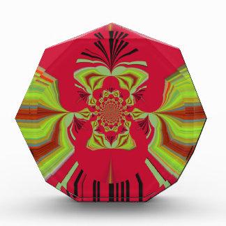 Red Hakuna Matata pattern Award