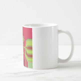 Red Hakuna Matata pattern Coffee Mug