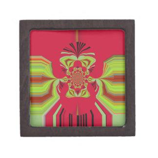 Red Hakuna Matata pattern Jewelry Box