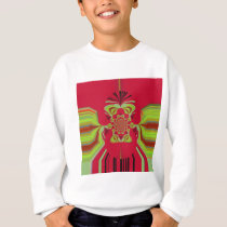 Red Hakuna Matata pattern Sweatshirt