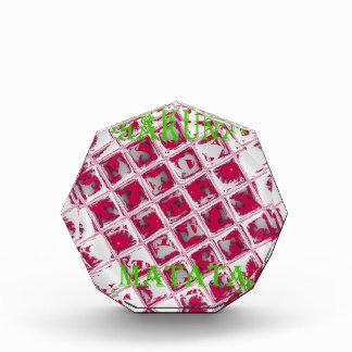 Red Hakuna Matata Style Acrylic Award