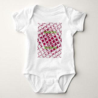 Red Hakuna Matata Style Baby Bodysuit