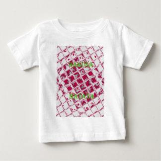 Red Hakuna Matata Style Baby T-Shirt