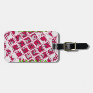 Red Hakuna Matata Style Bag Tags