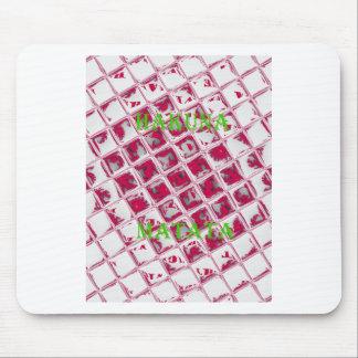 Red Hakuna Matata Style Mouse Pad