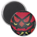 red halloween eyes magnets