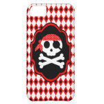 Red Halloween Pirate Goth Phone Case Case For iPhone 5C