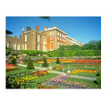 Red Hampton Court, Surrey, England flowers Postcards