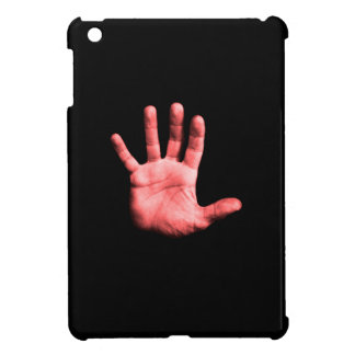 Red hand. cover for the iPad mini