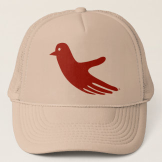 Red HandBird hat