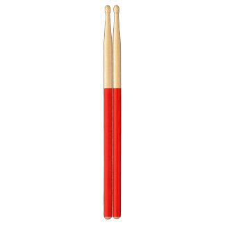 Red Handle Drumsticks