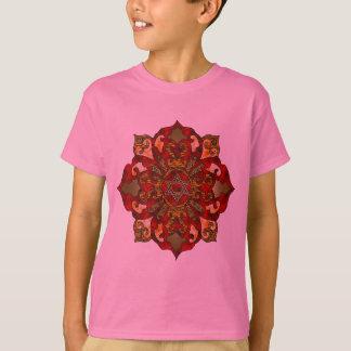 Red Hanukkah Mandala T-Shirt