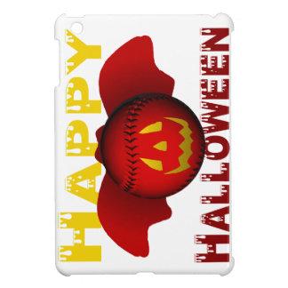 Red Happy Halloween Baseball Bat Cover For The iPad Mini