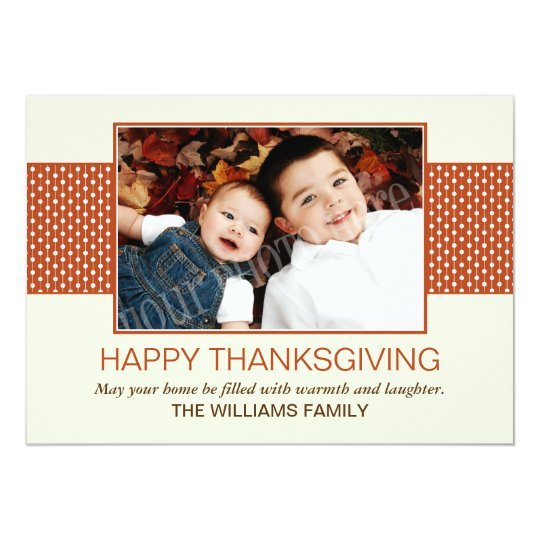 Red Happy Thanksgiving Cards
