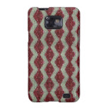 Red Harlequin Bling Galaxy SII Case