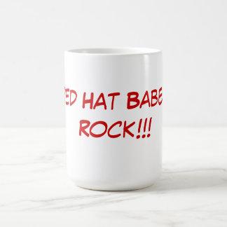 Red Hat Babes Rock mug