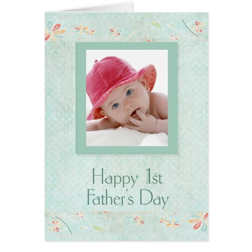 Red Hat Baby's First Father's Day Card