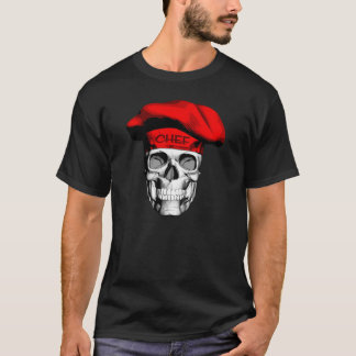 Red Hat Chef Skull T-Shirt