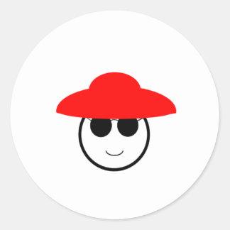 Red Hat Classic Round Sticker