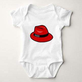 Red Hat Fedora Mameluco De Bebé
