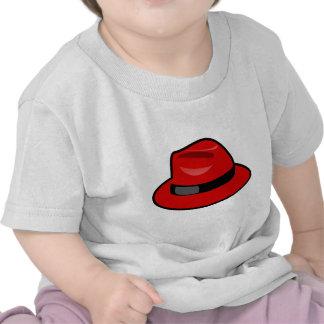 Red Hat Fedora Camiseta