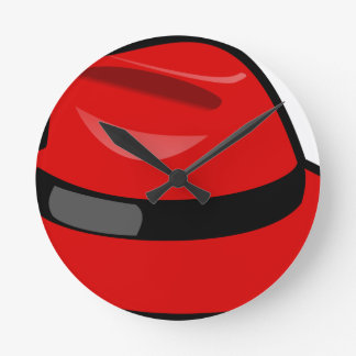 Red Hat Fedora Round Clock