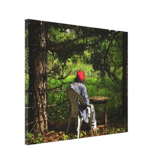 Red Hat Gallery Wrap Canvas