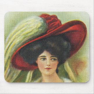 Red Hat grande Tapete De Ratones