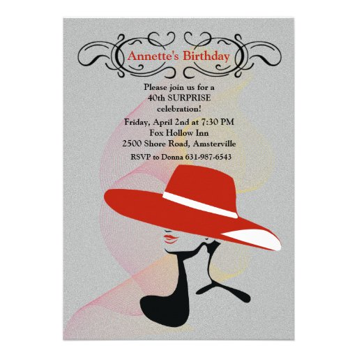 Free Tea Party Invitation Template for great invitation example