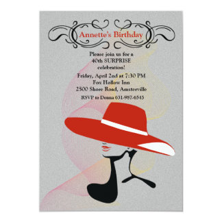Red Hat Invitation