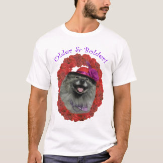 Red Hat Keeshond Shirt