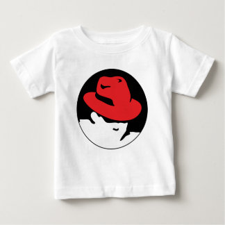 Red Hat Linux Logo Baby T-Shirt