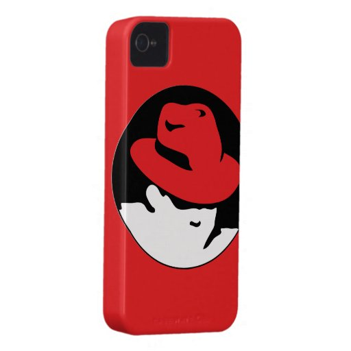 Red Hat Linux Logo iPhone 4 Cover