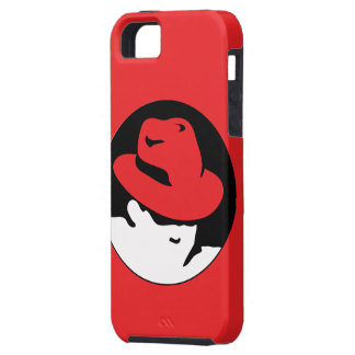 Red Hat Linux Logo iPhone SE/5/5s Case