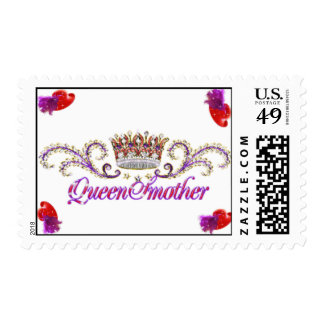 red hat queen mother stamp