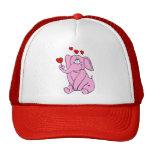 Red Hat rosado dulce Gorras De Camionero