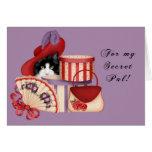 Red Hat Secret Pal Card