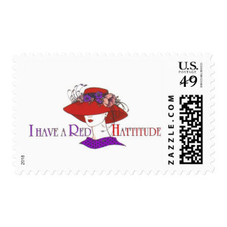 red hat -stamp Customized Postage