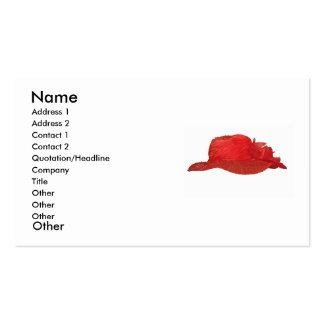 Red Hat Tarjetas De Visita