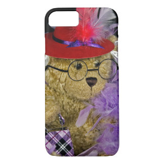 Red Hat Teddy Bear iPhone 8/7 Case