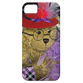Red Hat Teddy Bear iPhone SE/5/5s Case