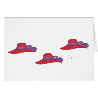 Red Hats Cards