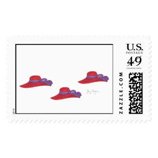 Red Hats Custom Postage