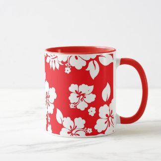Red Hawaiian Mug