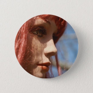 Red Head Button