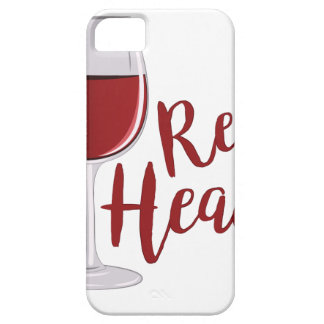 Red Head iPhone SE/5/5s Case