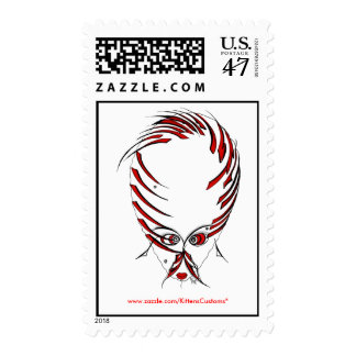 RED HEAD POSTAGE